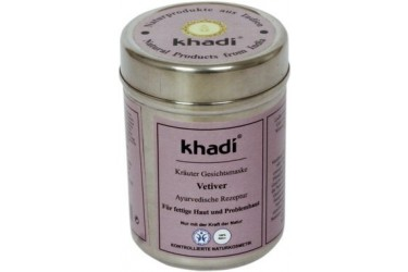 Khadi Vetiver Face Mask (Khadi, 50 gram)