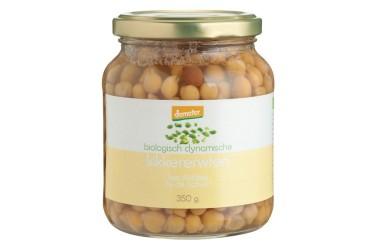 Biologische Kikkererwten Voordeelverpakking (Het Dichtste Bij, 6 x 340 ml)