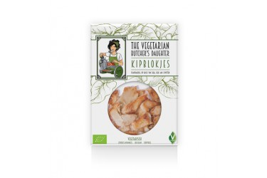 Biologische Vegetarische Kipblokjes (The Vegetarian Butcher's Daughter, 160 gram)