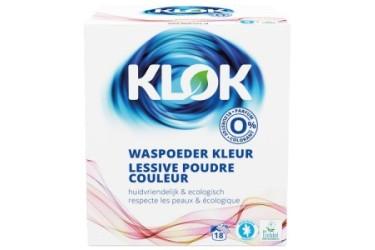 Klok Waspoeder Kleur Voordeelverpakking (4 x 1,2 kilo)