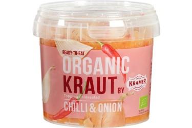 Biologische Kimchi Gefermenteerde kool chili-ui (Kramer, 300 gram)