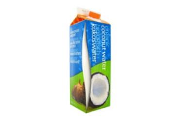 Biologisch Kokoswater grootverpakking (Omega & More, 6 x 1 liter)