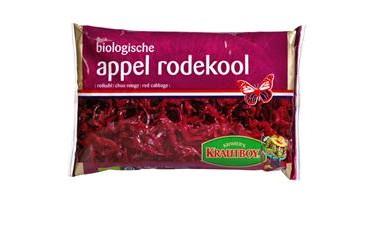 Biologische Rode Kool met Appel (Kramer, 500 gram)