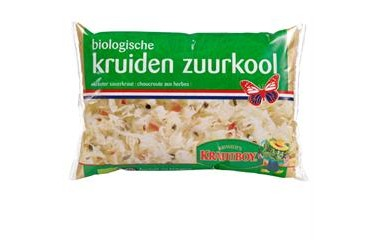 Biologische Zuurkool Kruiden (Kramer, 500 gram) t.h.t. 16 juli 2020