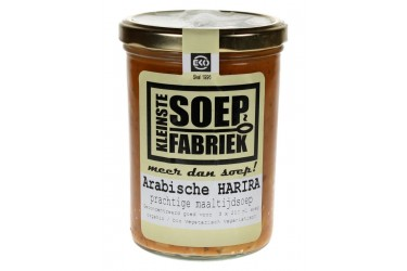 Biologische Marokkaanse Harira Maaltijdsoep (Kleinste Soepfabriek, 400 ml)