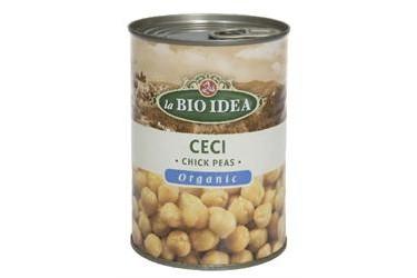 Biologische Kikkererwten Voordeelverpakking (La Bio Idea, 6 x 400 ml)
