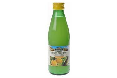 Biologische Citroensap In Fles Voordeelverpakking (La Bio Idea, 12 x 250 ml)