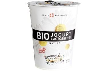 Biologische Yoghurt Mild Lactosevrij (Biedermann, 450 gr)