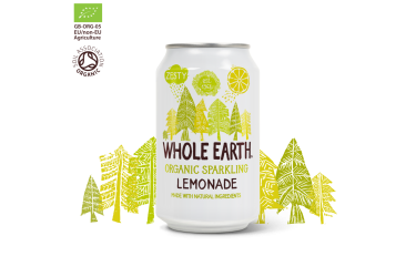Biologische Limoen Frisdrank (Whole Earth, 330 ml)