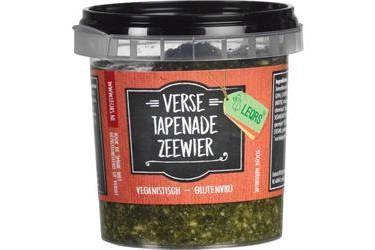 Biologische Tapenade Zeewier (LeQrs, 125 gram)