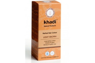 Khadi Hair Colour Light Brown (Khadi, 100 gram)