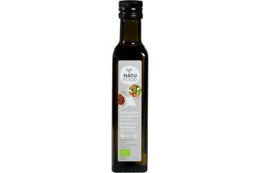 Biologische Lijnzaadolie Koudgeperst (Natufood, 250 ml)