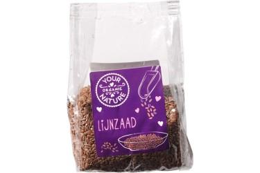 Biologische Lijnzaad Voordeelverpakking (Your Organic Nature, 8 x 200 gram)