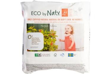 Naty Luiers 4+ maxi plus 9-20 kg Voordeelverpakking 6 x 24 stuks