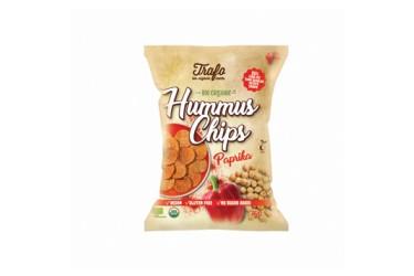 Biologische Hummus Chips Paprika Voordeelverpakking (Trafo, 6 x 75 gram)