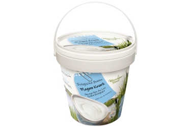 Biologische Kwark Mager emmer (Weerribben Zuivel, 800 ml)