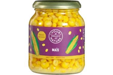 Biologische Mais Voordeelverpakking (Your Organic Nature, 6 x 340 ml)
