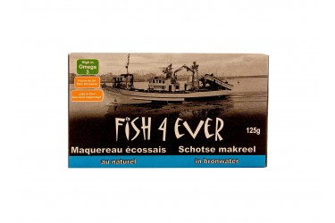 Schotse Makreel In Bronwater (Fish4Ever, 125 gram)