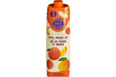 Biologisch Appel-Mangosap Voordeelverpakking (Your Organic Nature, 6 x 1 liter)