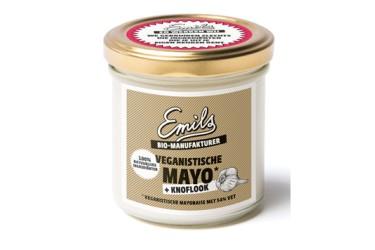 Biologische Mayo knoflook veganistisch (Emils, 125 gram)