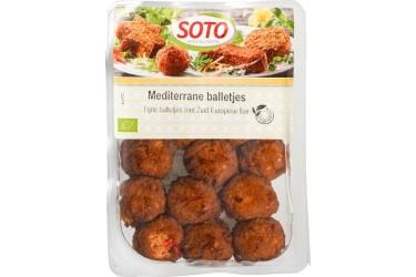 Biologische Mediterrane Balletjes (Soto, 250 gram)
