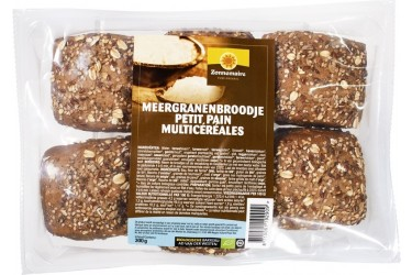 Biologische Meergranen Broodjes (Zonnemaire, 6 stuks)