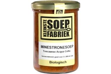 Biologische Minestronesoep Voordeelverpakking (Kleinste Soepfabriek, 6 x 400 ml)