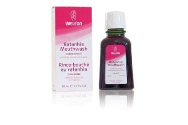 Weleda Mondwater Ratanhia (50 ml)