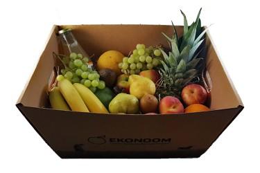 Biologische Fruitmand