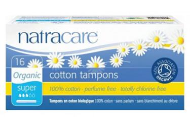 Tampons super Voordeelverpakking (Natracare, 12 x 20 stuks)