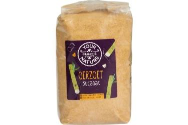 Biologische Oersuiker Voordeelverpakking (Your Organic Nature, 8 x 500 gram)