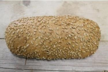 Biologische Ommelander Vloerbrood Zonnepitten Desem GESNEDEN (Biobakker Van Esch, 700 grams)