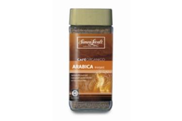 Biologische Oploskoffie 100% arabica Voordeelverpakking (Simon Levelt, 6 x 100 gram)