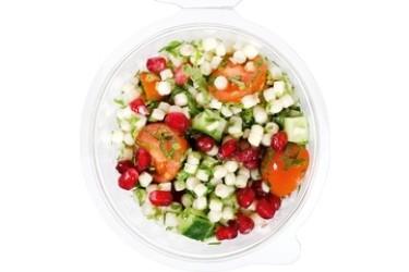 Biologische Parelcouscous tabouleh & granaatappel (Crave Good Food, 250 gram)