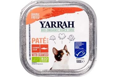 Biologische Pate Zalm met Zeewier Voordeelverpakking (Yarrah, 16 x 100 gram)