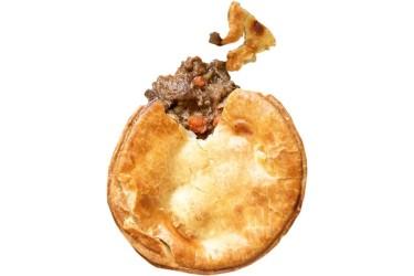 Biologische Rundvlees Pie (Marqt, 225 gram)