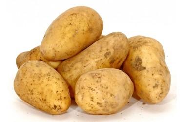 Biologische Aardappelen Sevilla met een vlekje (2 kilo, van Lizelore Vos uit Kraggenburg)
