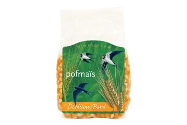 Biologische Pofmaïs (De Nieuwe Band, 250 gram)