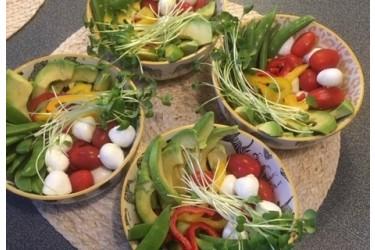 Biologisch Verspakket (4 personen, € 3,38 p.p.): Poke Bowl Vegetarisch (1,6 kg)