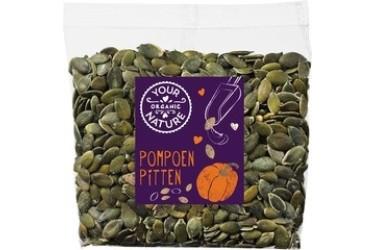 Biologische Pompoenpitten Voordeelverpakking (Your Organic Nature, 8 x 200 gram)