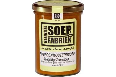 Biologische Pompoen-Mosterdsoep Zonnesoep Voordeelverpakking (Kleinste Soepfabriek, 6 x 400 ml)