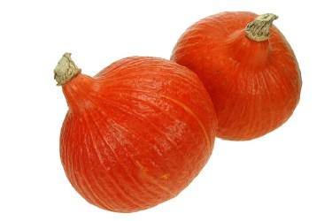 Biologische Pompoen Oranje (BioRomeo, per stuk, 800-1200 gram)