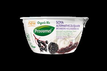 Biologisch Alternatief voor Kwark met Bramen-Bessen (Provamel, 150 gram)