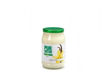 Biologische Yoghurt Vanille (Pur Natur, 150 gram)