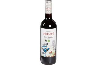 Biologische Rode Wijn Purato Nero d'Avola Voordeelverpakking (6 x 750 ml)