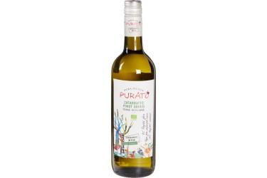Biologische Witte Wijn Purato Catarratto Pinot Grigio Voordeelverpakking (6 x 750 ml)