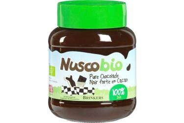 Biologische Chocoladepasta PUUR Voordeelverpakking (Nuscobio, 6 x 400 gram)