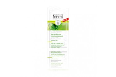 Biologisch Purifying cleansing mask  mint (Lavera, 10 ml)