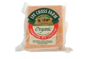 Biologische Red Leicester (Lye Cross Farm, 245 gram)