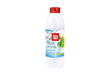 Biologische Rijstdrink Naturel Voordeelverpakking (Lima, 6 x 1 liter)